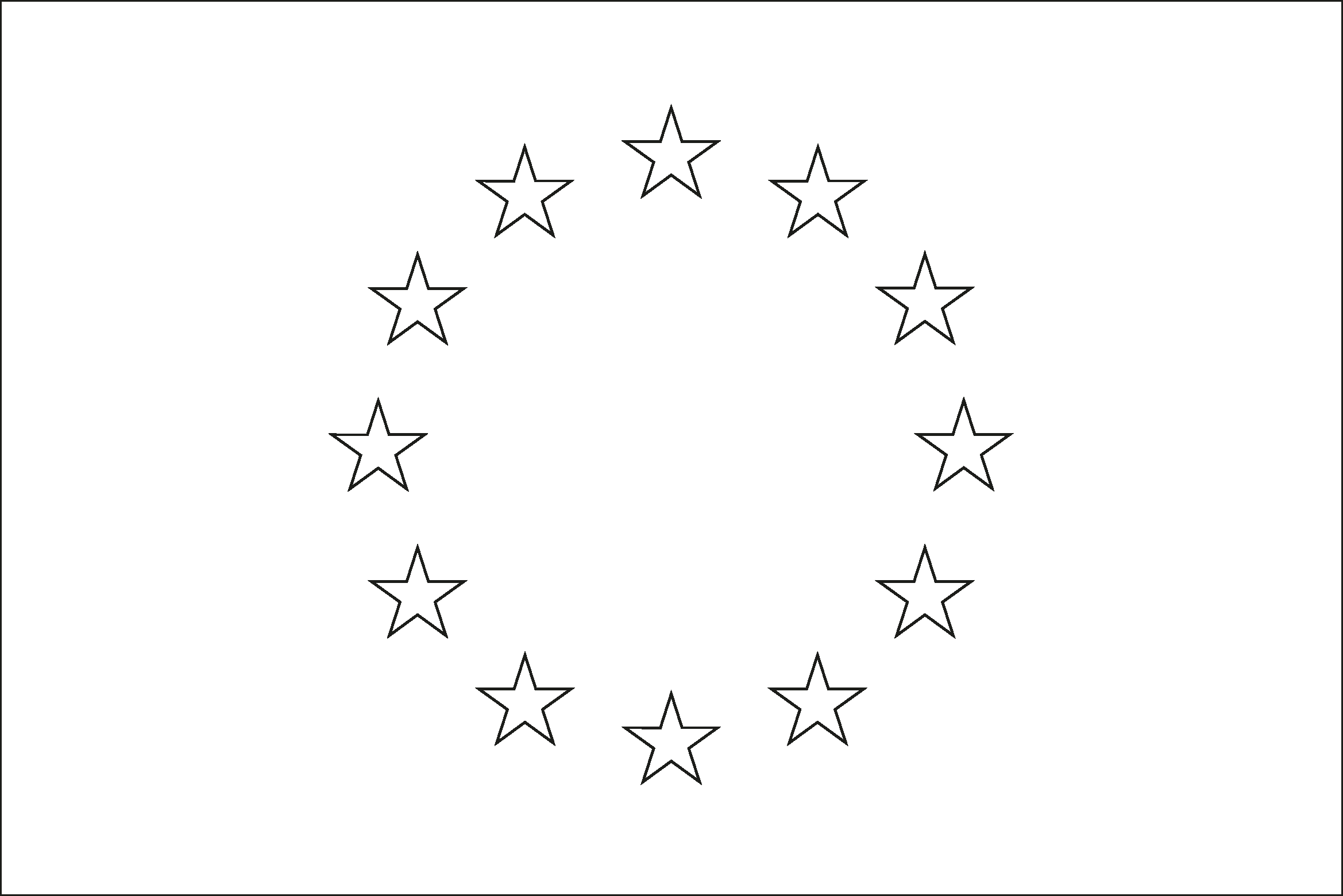 - Blank European Flags To Colour - About Flag Collections