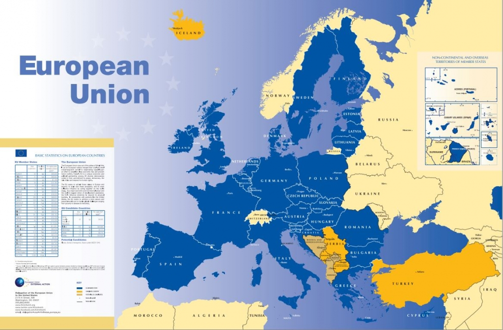 This is the EU as it was in 2014