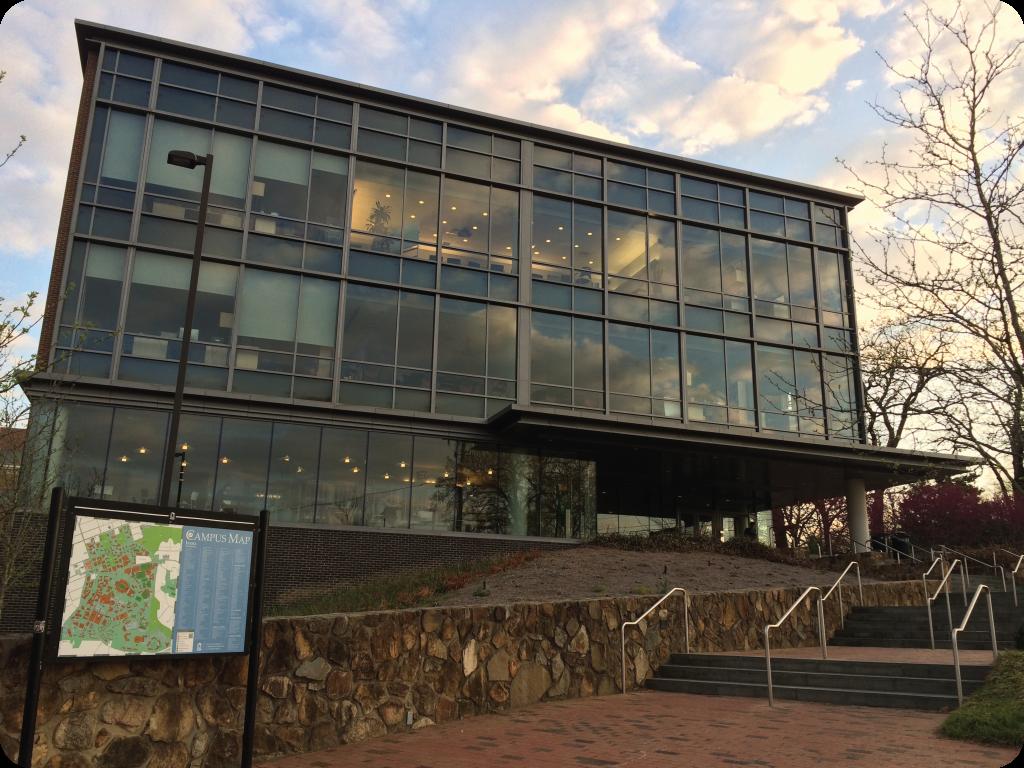 The FedEx Global Education Center.