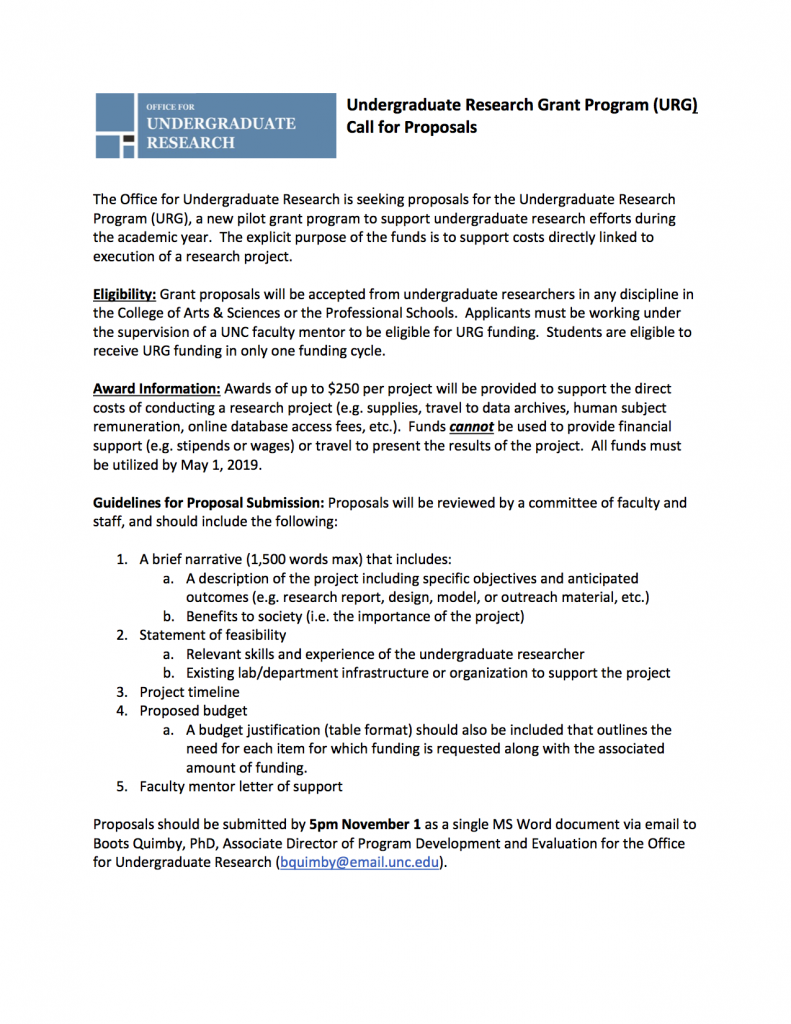 Call for Proposals in .png format