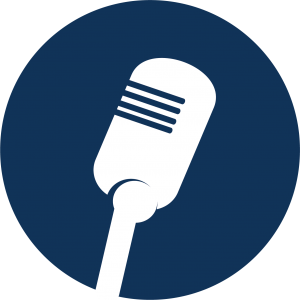 Icon of microphone.