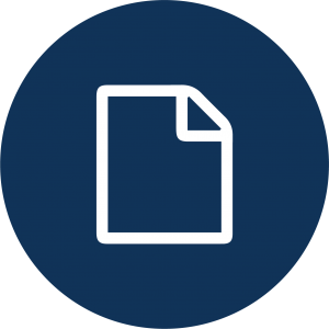 Icon of a piece of paper with one corner folded over.
