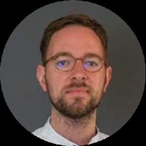 Headshot of Dominic Nyhuis.