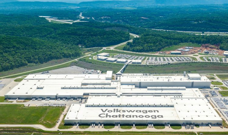 Picture of Chattanooga Tennessee Volkswagen Plant