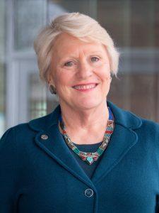 Headshot of Ambassador Barbara Stephenson.