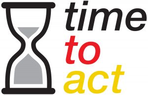 Logo of the Time to Act Campus Week Initiative